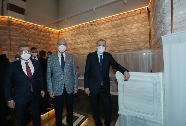 Cumhurbaşkanı Erdoğan Üsküdar Selimiye Nev Mekan'ın açılışını yaptı