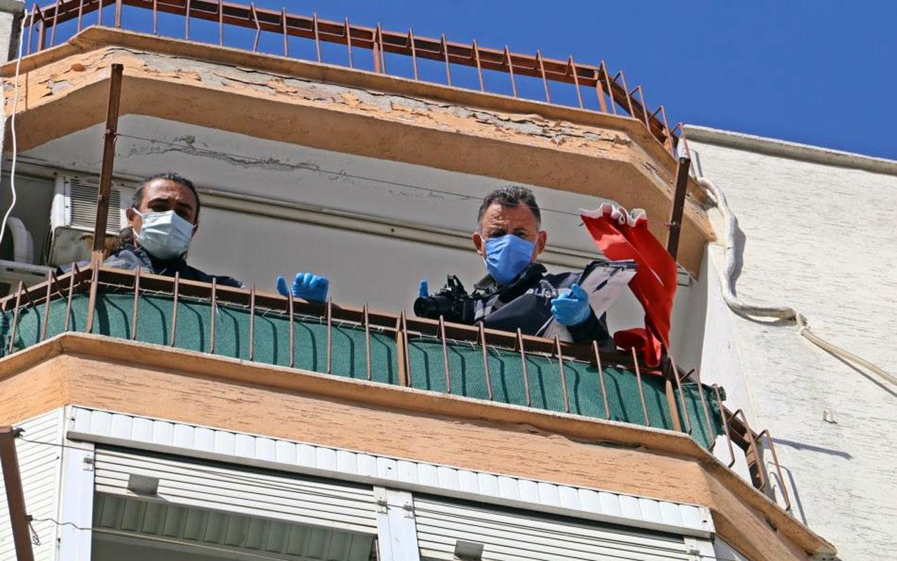Antalya'da beşinci kattan düşen adam ölmedi nedeni ortaya çıktı