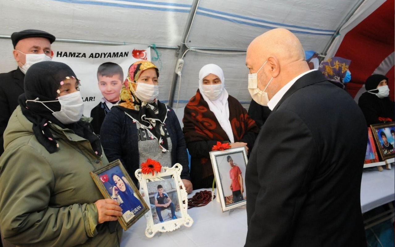 Hak-İş'ten Diyarbakır annelerine ziyaret! Duruşunuz Kandil'i titretiyor!