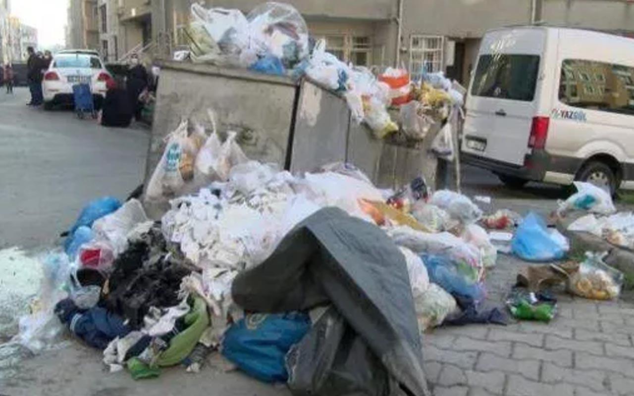 İBB'nin 'çöp' açıklaması Maltepe sakinlerini isyan ettirdi