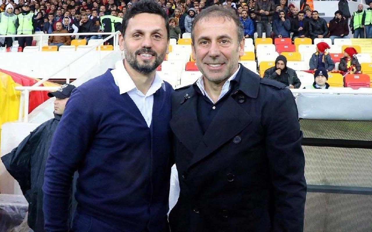 Dev maç öncesi Abdullah Avcı ve Erol Bulut futbolcularıyla görüştü