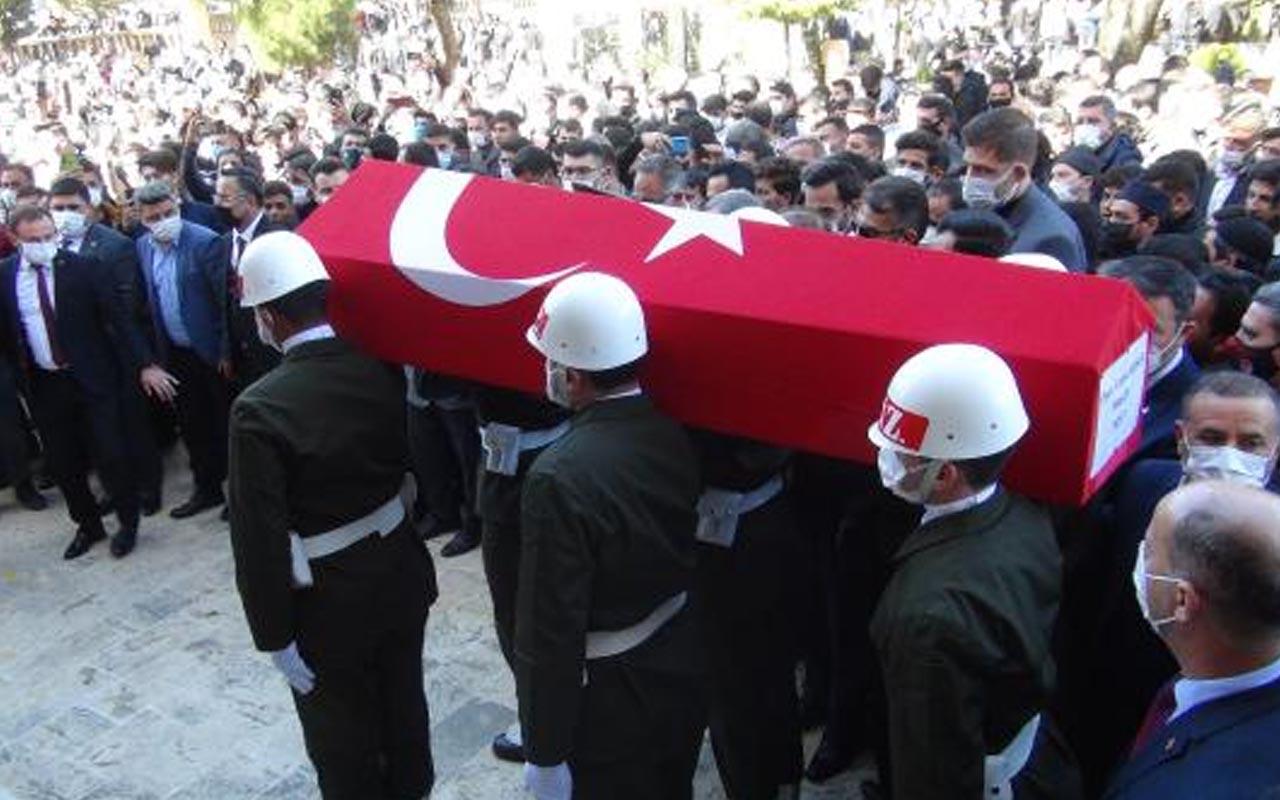Terhisini aldıktan sonra Şanlıurfa'da kazada hayatını kaybeden gence veda edildi