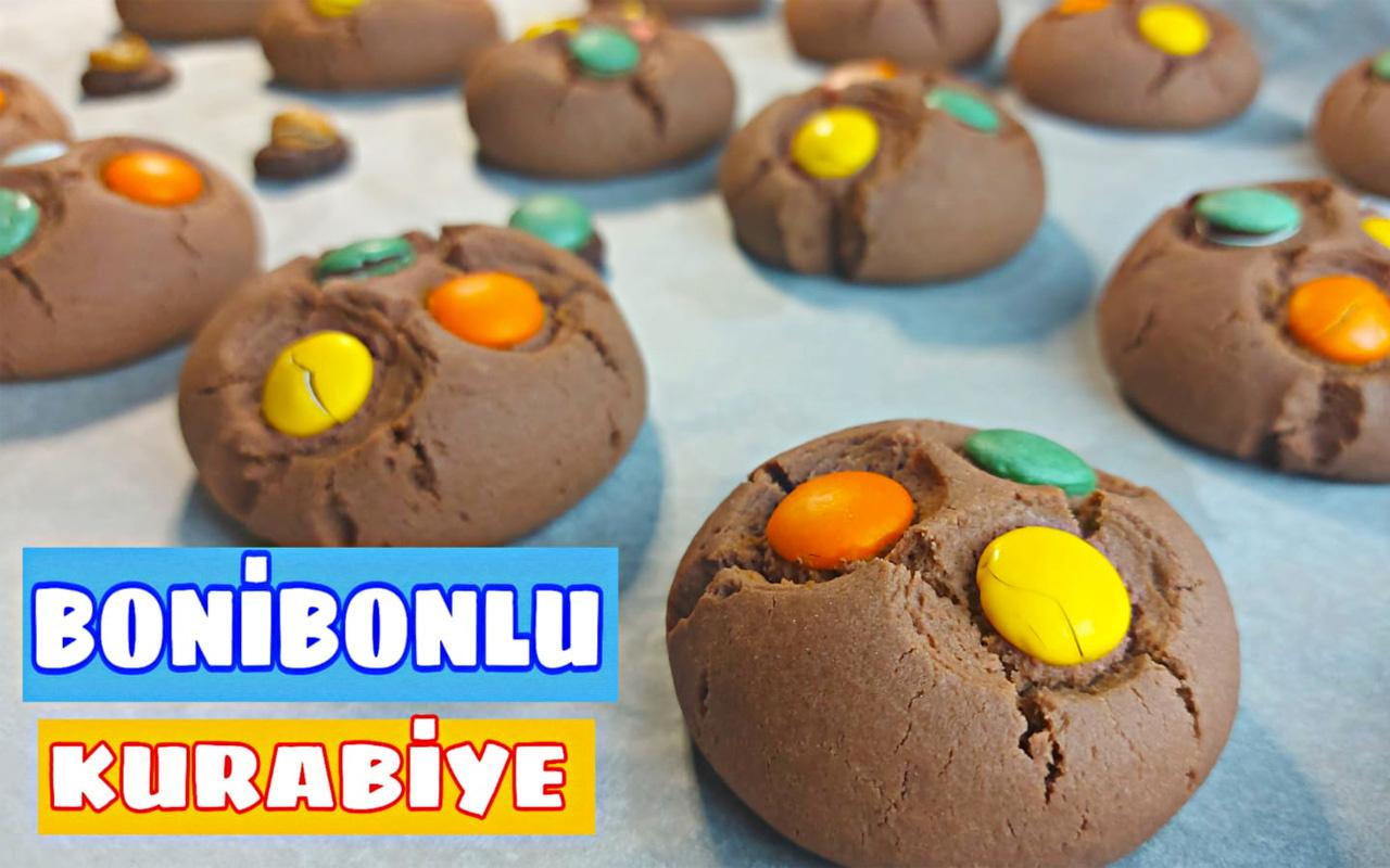 Bonibonlu kurabiye nasıl yapılır çocuklarınız bayılacak!