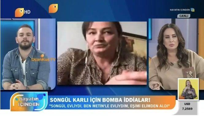 Skandal iddia gündeme bomba gibi düştü 'Eşin seni Songül Karlı ile aldatıyor'