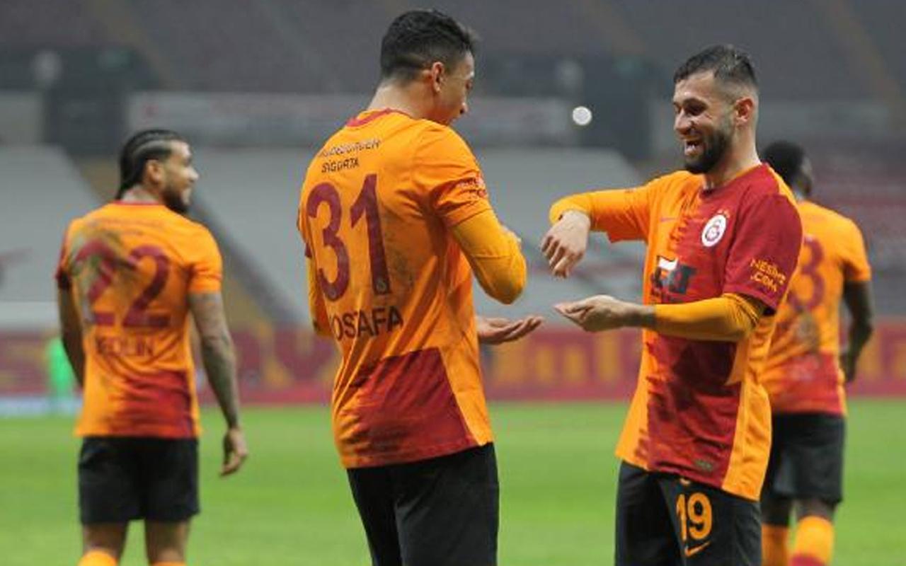 Galatasaray- Erzurumspor Süper Lig maçı özet ve golleri
