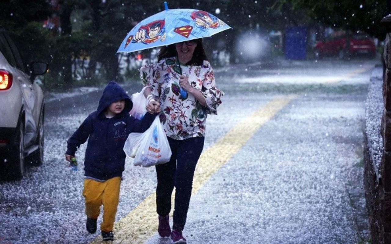 Meteoroloji saat verdi! İstanbulun da aralarında olduğu 6 ile sağanak uyarısı