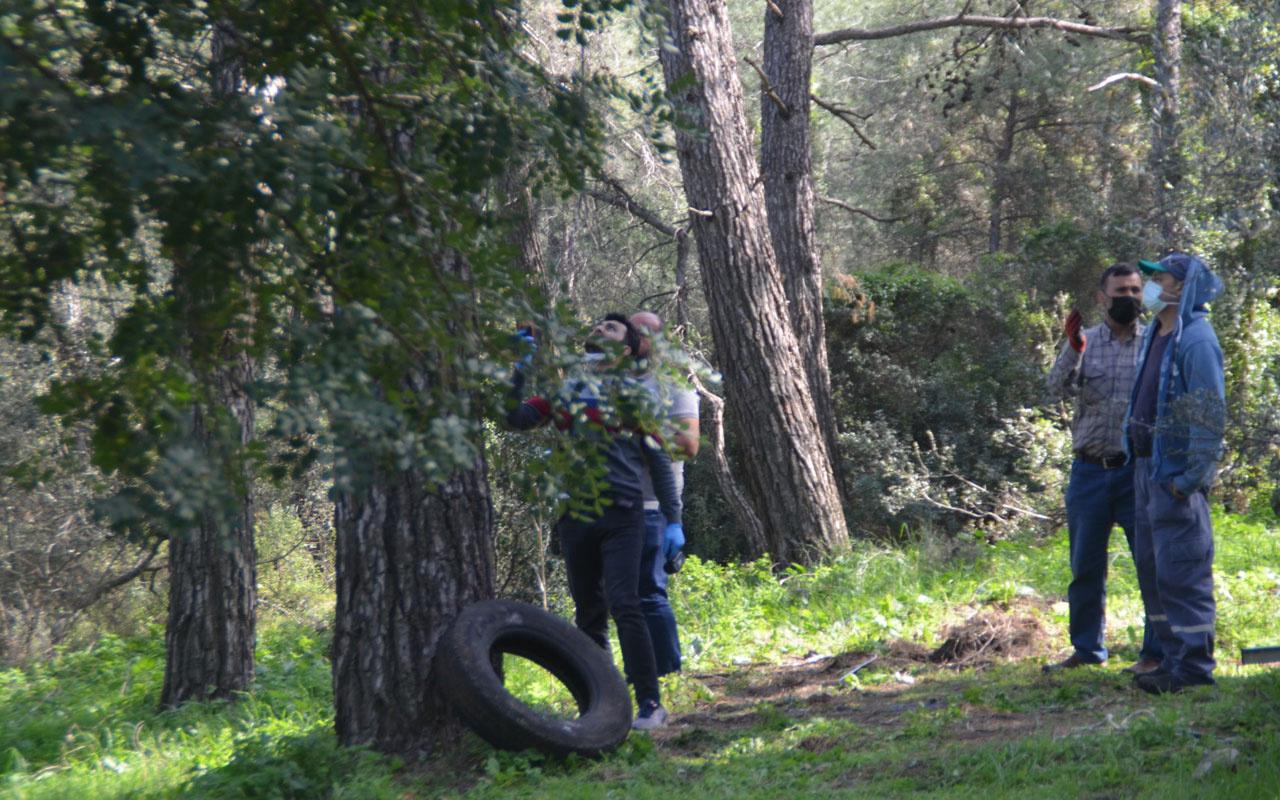 Muğla'da kendisini ağaca iple astı son anda kurtarıldı