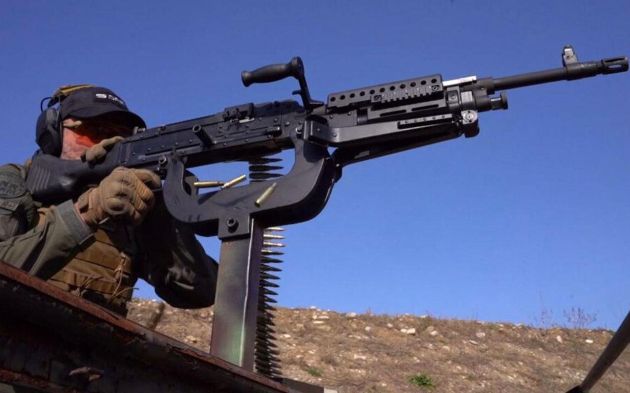 Makineli tüfek SAR 762 MT testleri geçti! Müthiş özellikleri var