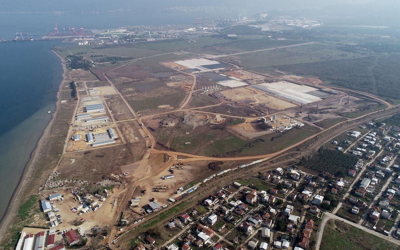 TOGG fabrikasının inşaatı havadan böyle görüntülendi