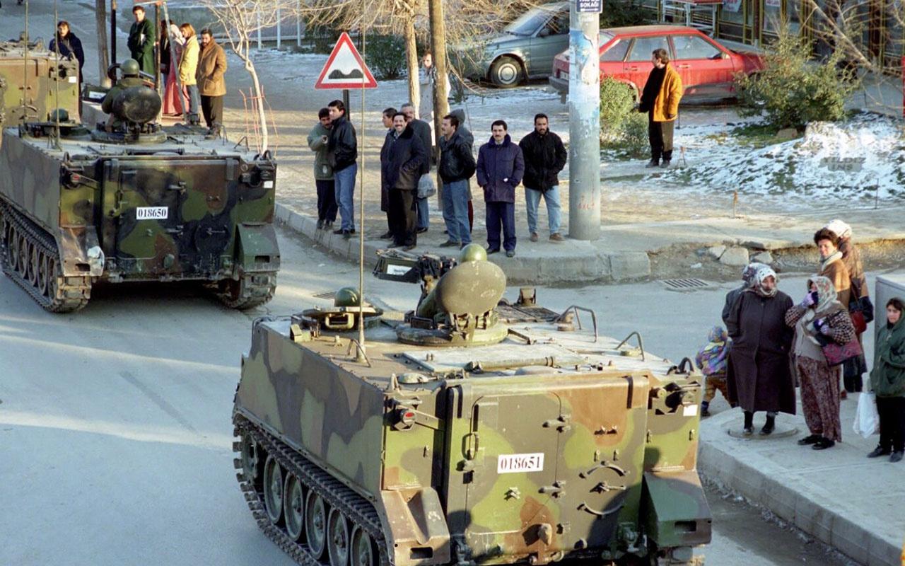 Türk demokrasinin kara lekesi: 28 Şubat post modern darbesi