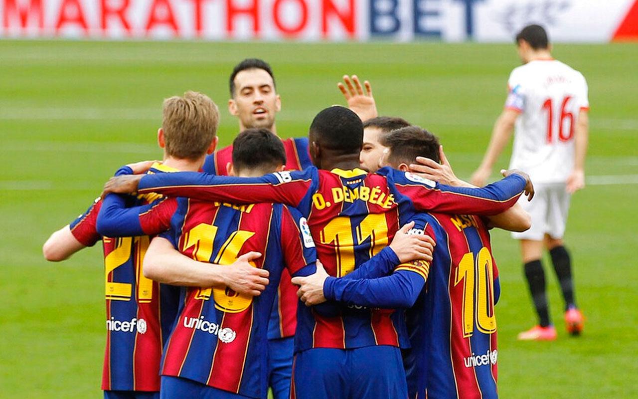 Barcelona, Sevilla'nın serisine son verdi