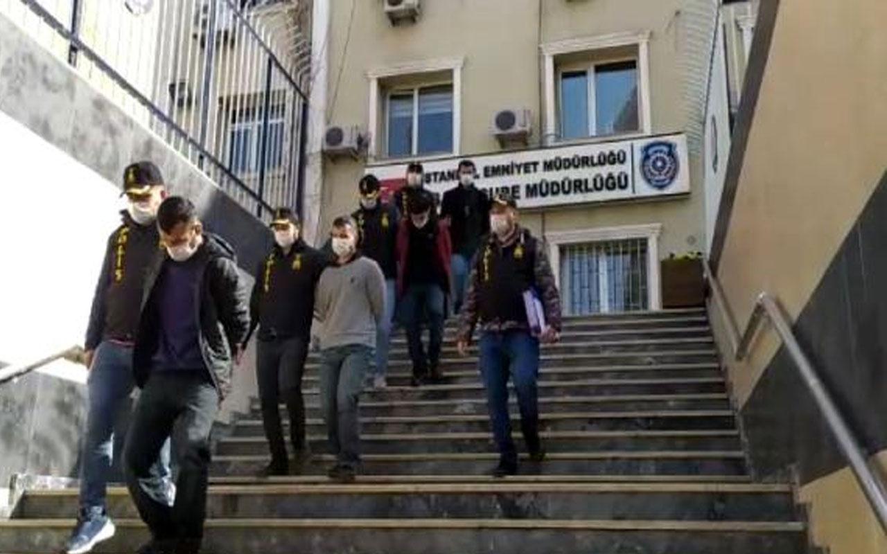 İstanbul'da 12 evden 250 bin liralık eşya çalan şüpheliler yakalandı! Suç makinesi çıktılar