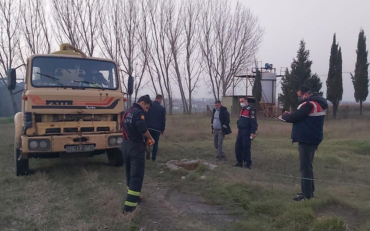 Kırklareli'nden feci haber! Kayıp güvenlik görevlisi çalıştığı fabrikanın bahçesindeki foseptikte ölü bulundu
