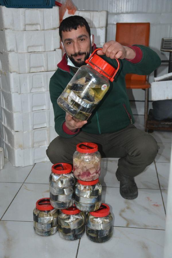 Sinop'ta 3 gün bekletilip yapılıyor fiyatı dudak yüksek siparişlere yetişemiyorlar