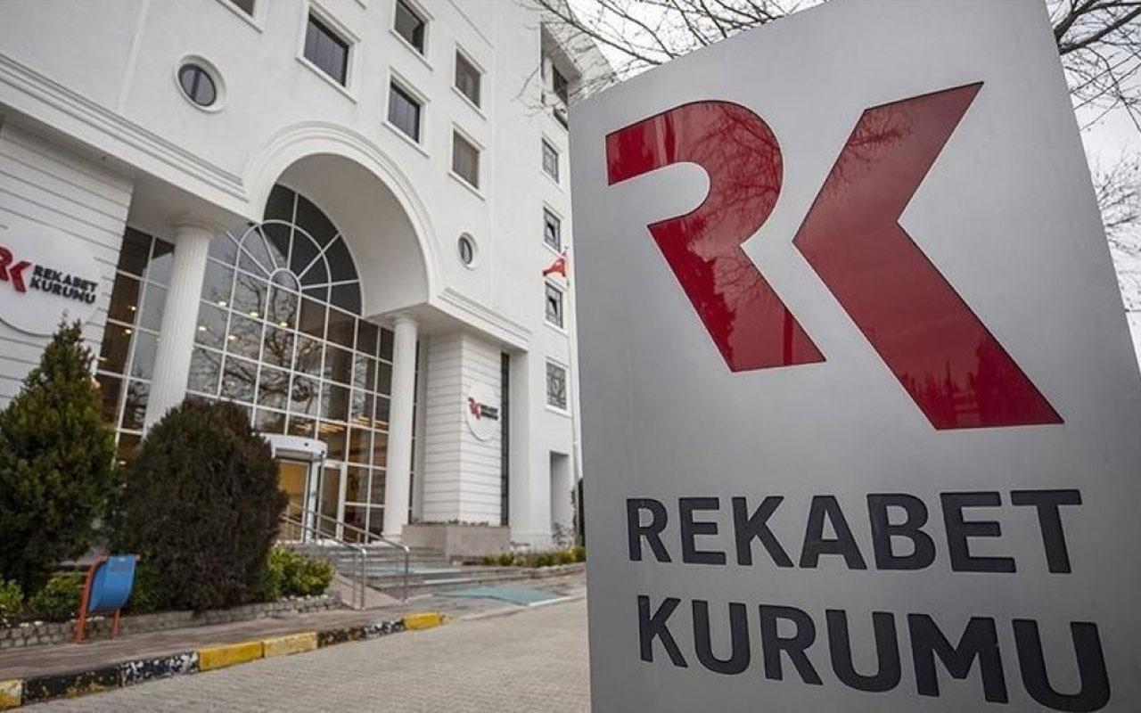 Rekabet Kurulu geçen yıl 2.2 milyar lira idari para cezası verdi