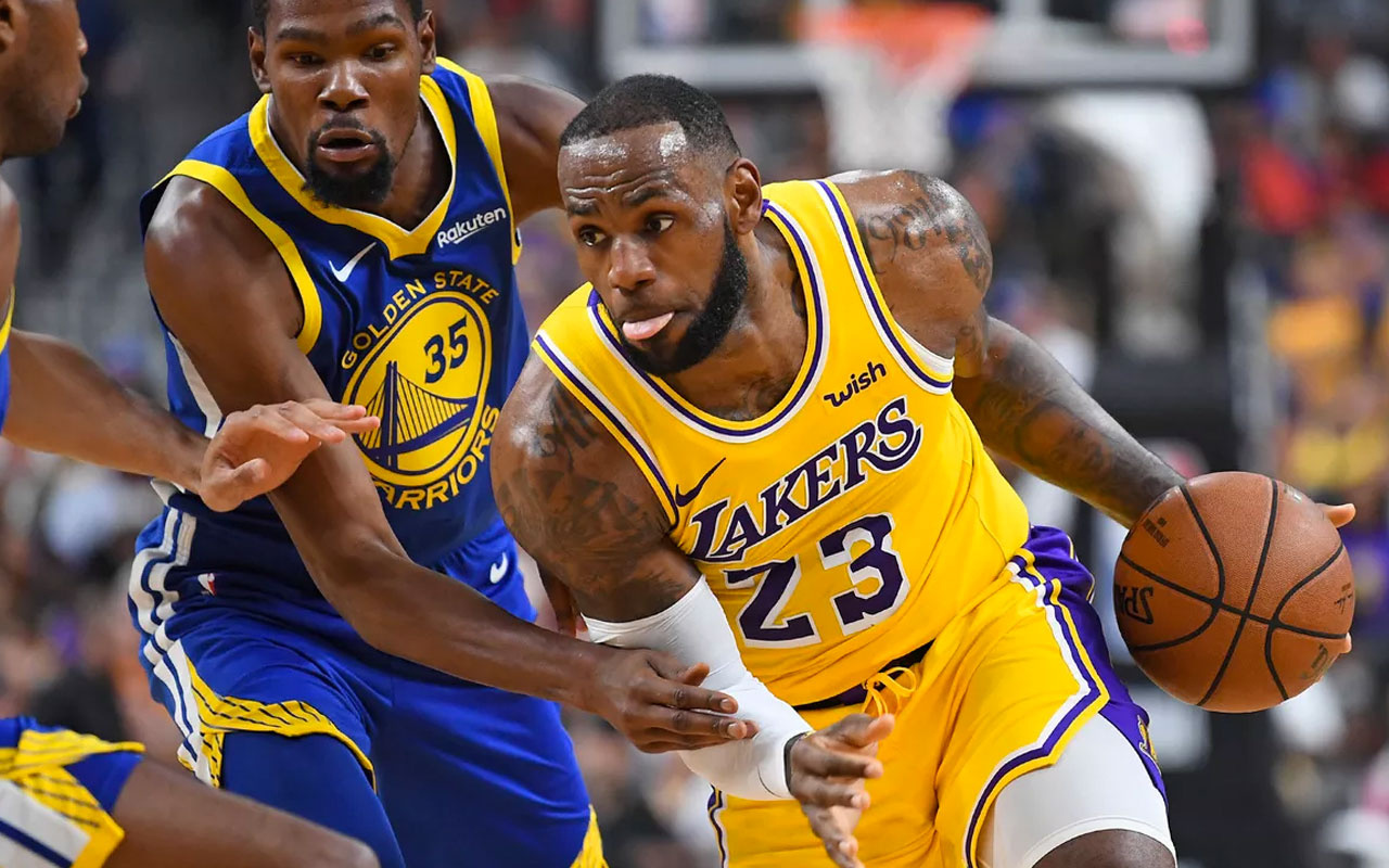 Los Angeles Lakers, Warriors engelini rahat geçti