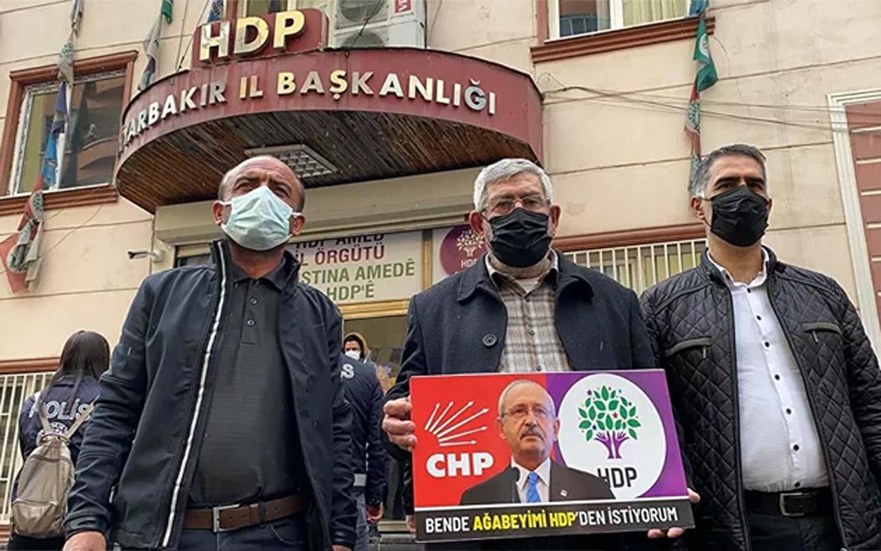 Kılıçdaroğlu'nun kardeşinden evlat nöbetindeki annelere ziyaret! Ben de ağabeyimi HDP'den istiyorum