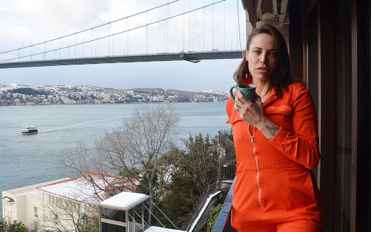 Sosa'nın eşi Carolina: İstanbul benim ikinci evim