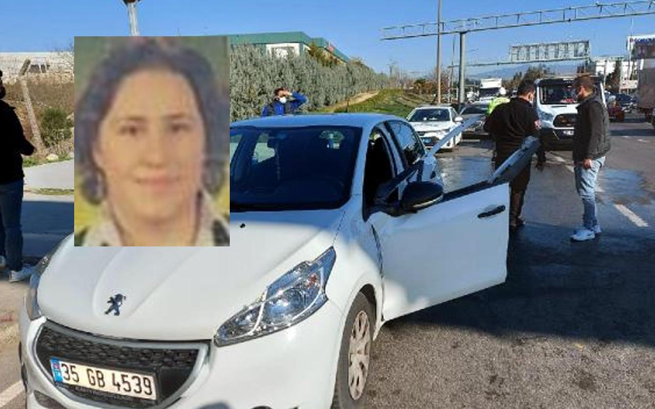 İzmir'de ölümün böylesi! Kazadan sonra aracını kontrol etmek isterken can verdi