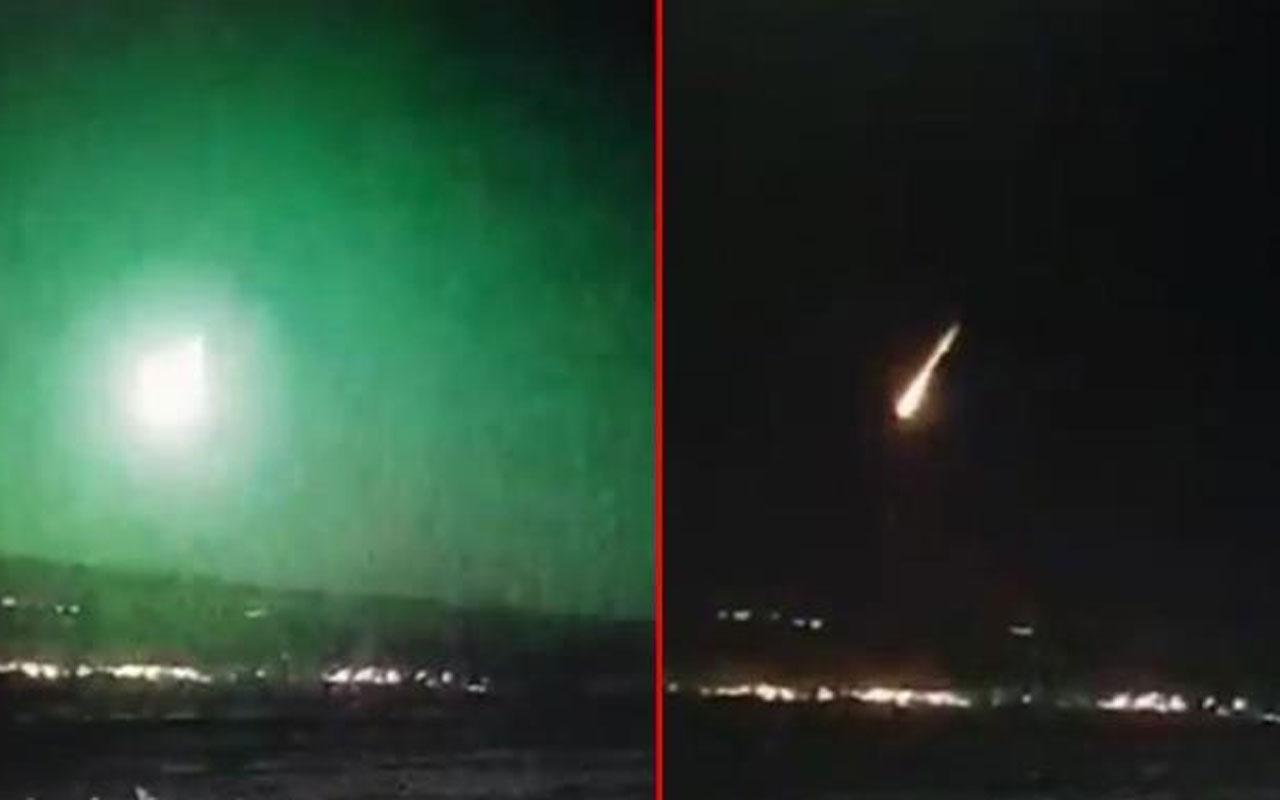 İstanbul semalarında görülen gök taşı! Uzmanı açıkladı yenilerini görebiliriz