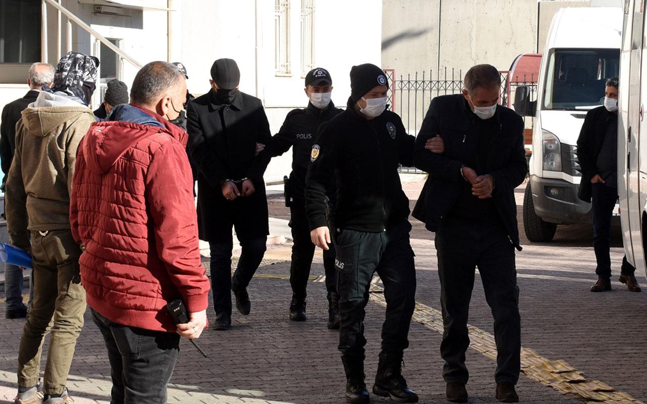 Kayseri'de eş zamanlı operasyon! Sonunda yakalandılar