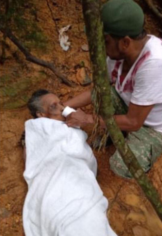 Ormanda çığlıklar ekipleri harekete geçirdi! Kadını gören ekipler şok oldu