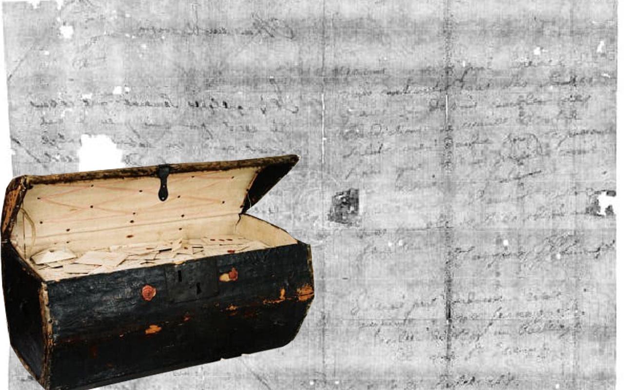 Hollanda'da 300 yıllık gizem çözüldü: Şifreli katlanmış mektupta yazana bakın