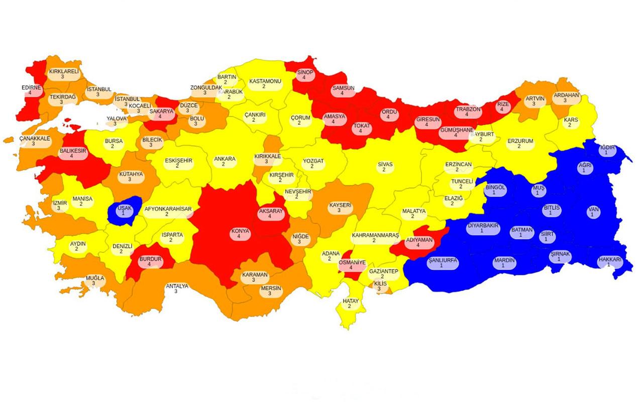 Covid-19 vaka haritasında güneydoğu neden mavi oldu Prof. Bülent Ertuğrul açıkladı