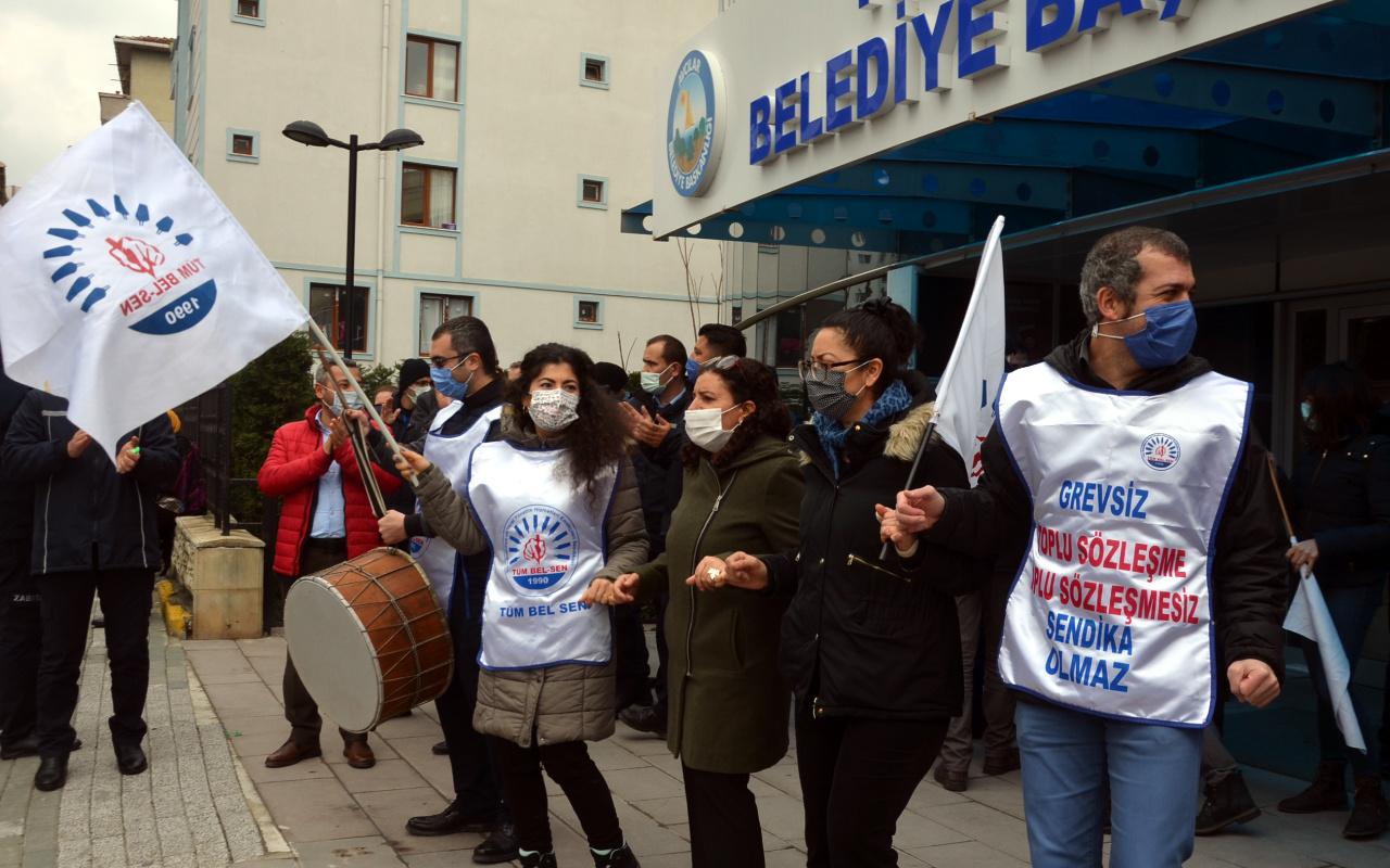 CHP'li Avcılar Belediyesi'nde halaylı eylem! Ayrımcılığa son verilene kadar...