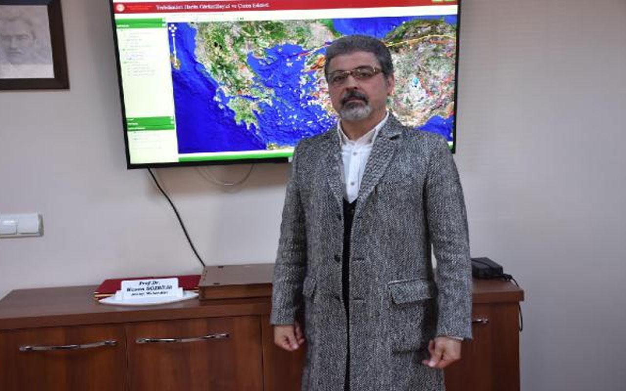 """Prof. Dr. Hasan Sözbilir'den korkutan deprem açıklaması! """"Yunanistan depremi İzmir faylarını tetikleyebilir"""""""