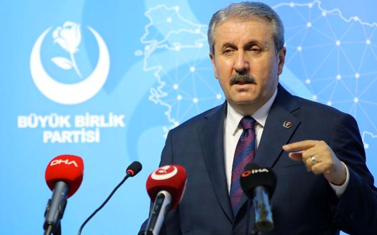 BBP Başkanı Mustafa Destici: TBMM teröristlerden temizlenmeli