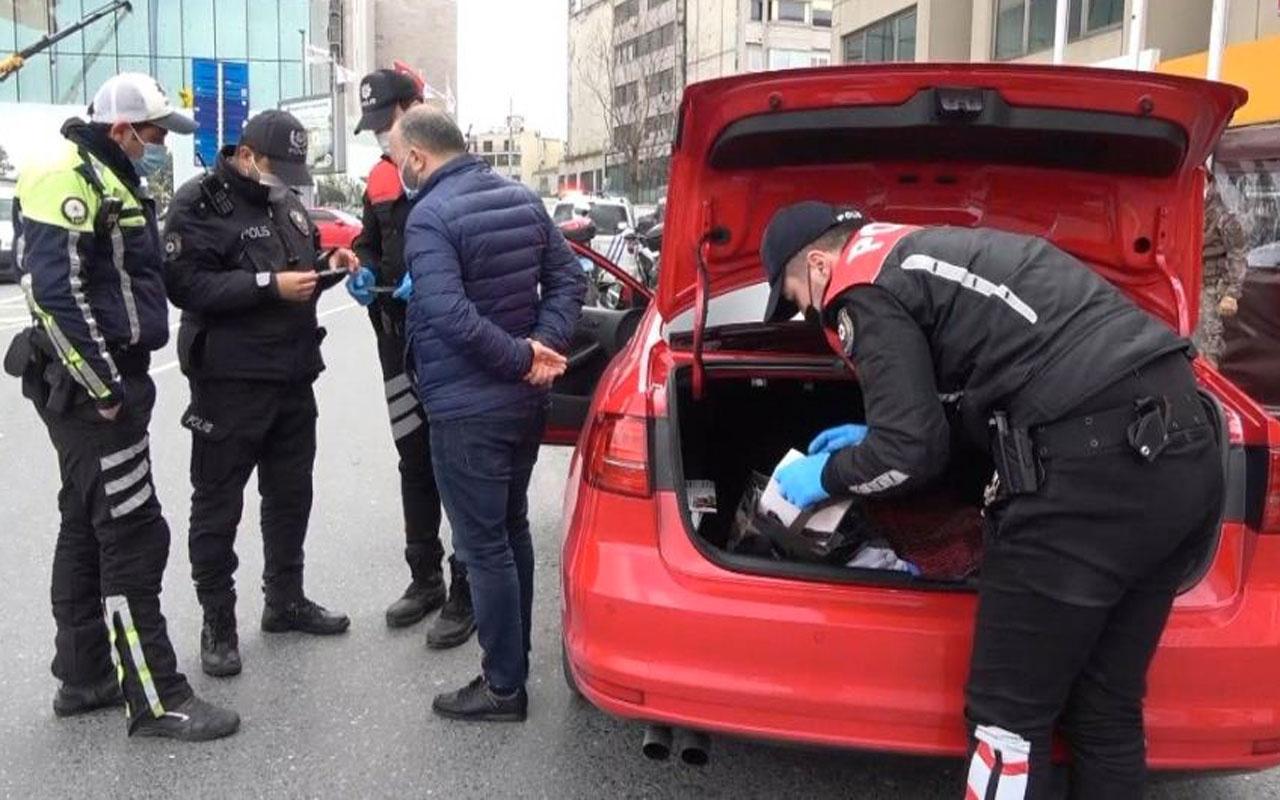 Taksim'de çakarla yakalanan sürücü: Çakar kullanmıyorum çocuğum için almıştım