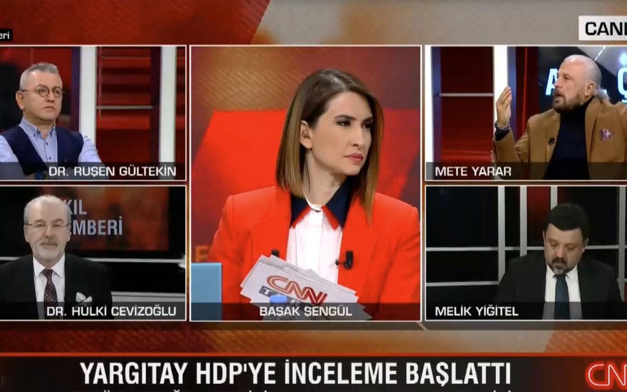 CNN Türk canlı yayınında Ruşen Gültekin ve Melik Yiğitel birbirine girdi