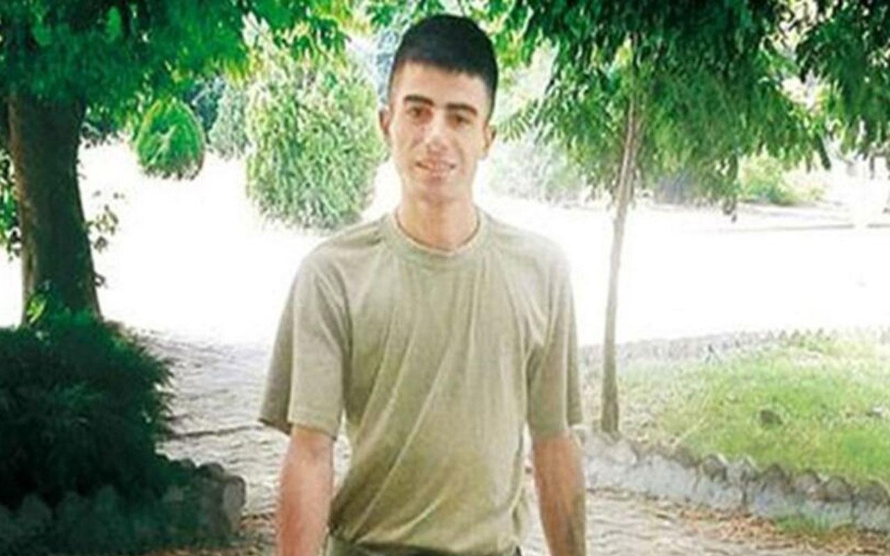 Bursa'da komutanı tarafından kaskla öldürülen er şehitliğe naklediliyor