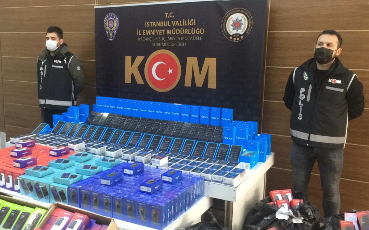 Değeri 1,5 milyon TL! İstanbul'da 4 bin 224 adet ele geçirildi