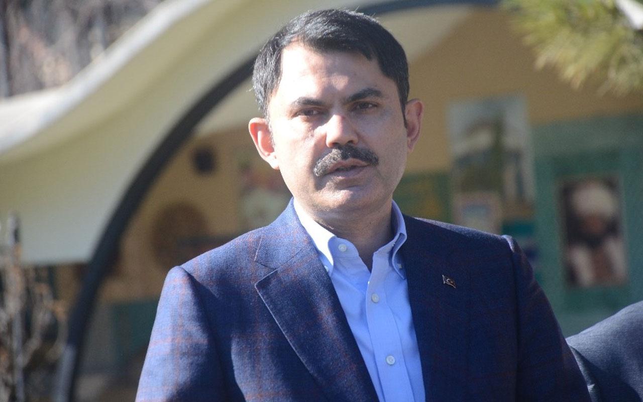 """Çevre ve Şehircilik Bakanı Murat Kurum'dan """"dikey bahçe"""" paylaşımı"""