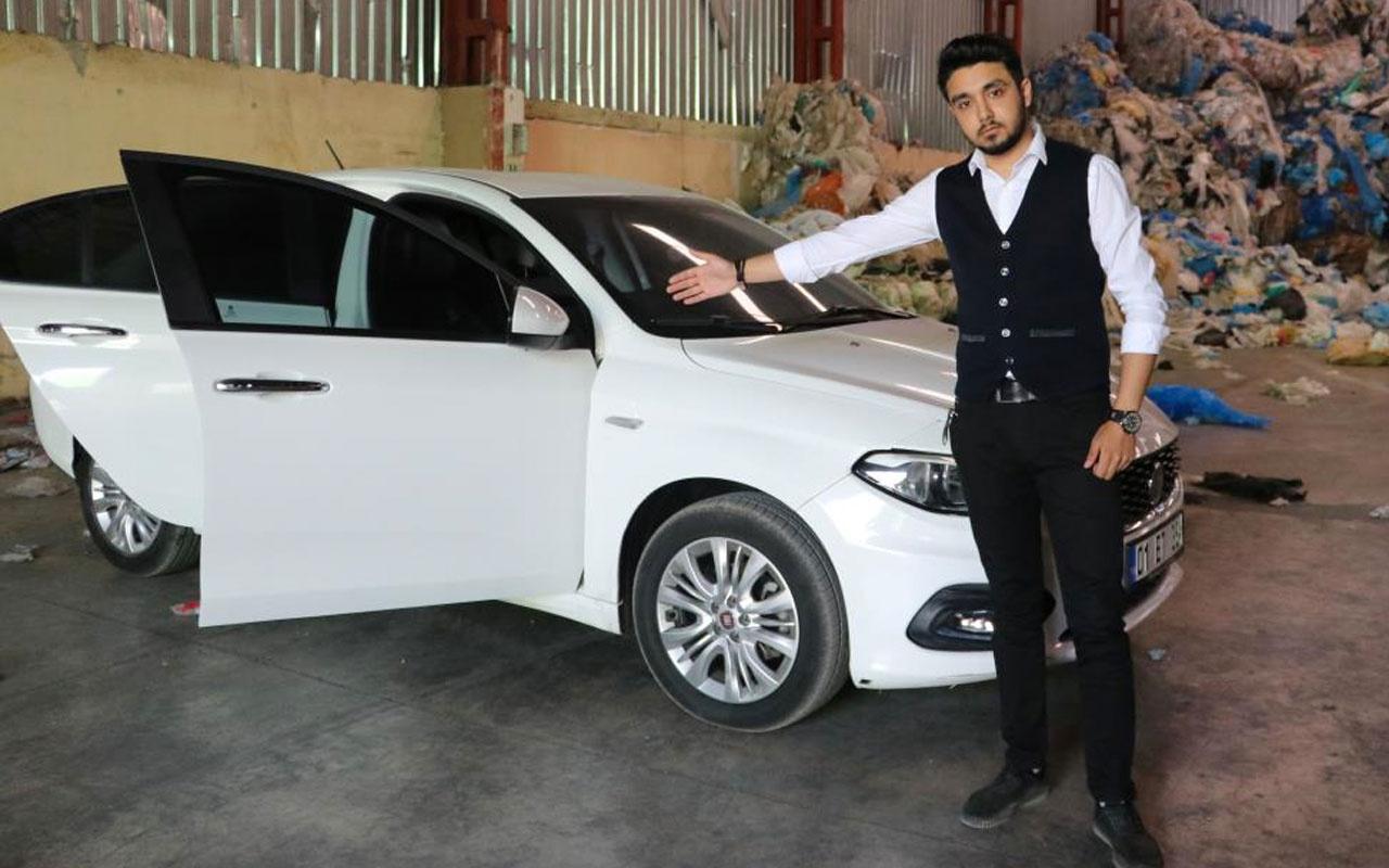 Adana'da sıfır aldığı aracı satarken eksperde hayatının şokunu yaşadı