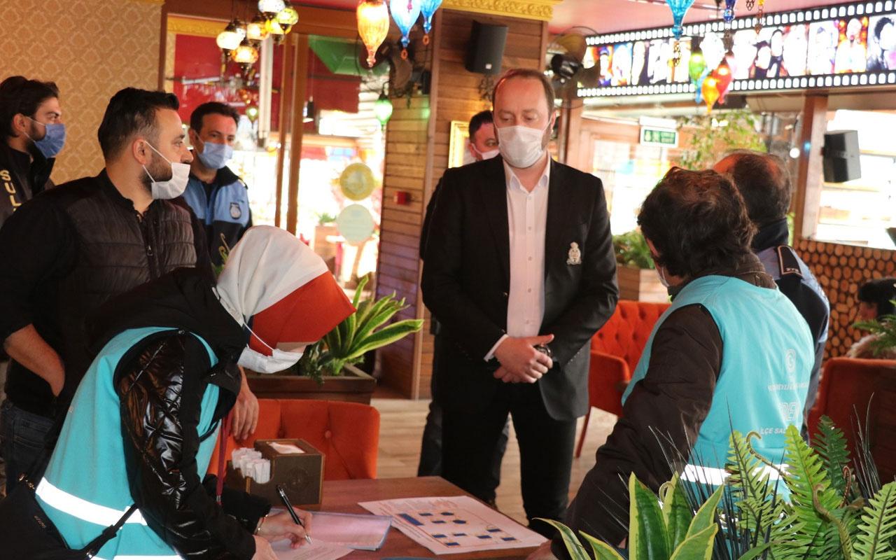 Sultanbeyli İlçe Salgın Denetim Merkezi kontrolü elden bırakmadı