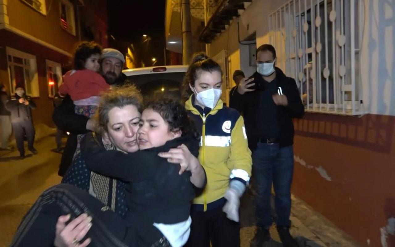 Bursa'da 3 katlı apartmanda korkutan yangın: 5'i çocuk 8 kişi dumandan etkilendi