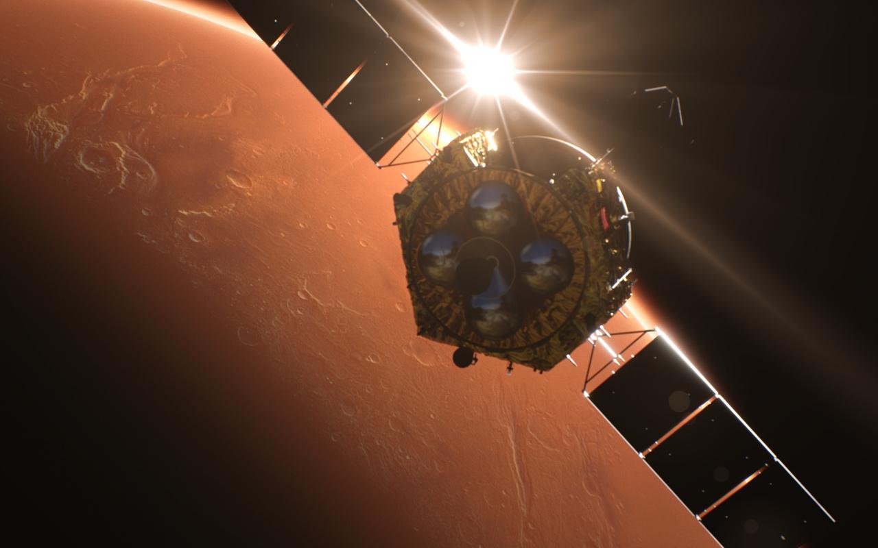 Çin'in uzay aracı yayınladı! Mars'ın ilk fotoğraflarını yayınladı