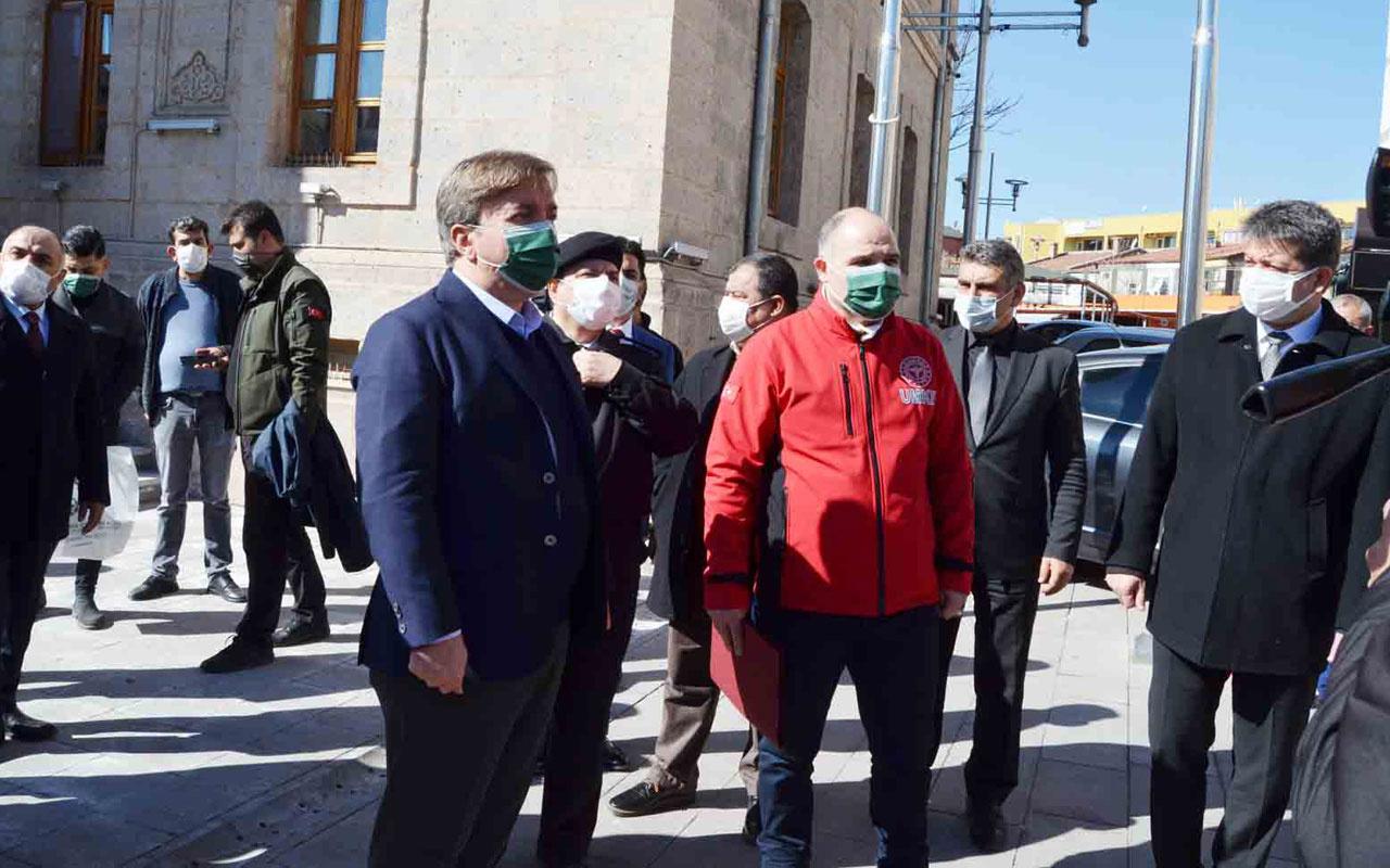 Kırmızı kategorideki Aksaray'da pazar günü için bir ilk! Vali Hamza Aydoğdu duyurdu