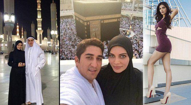 Ceren Hindistan başını kapayıp Mekke'ye gitmişti son paylaşımı çok kızdırdı