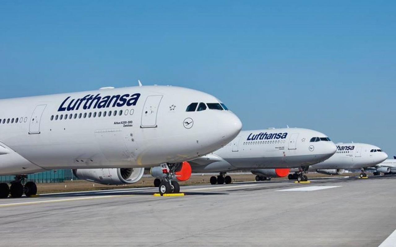 Alman havayolu devi Lufthansa 2020 yılında 6,7 milyar euro zarar etti
