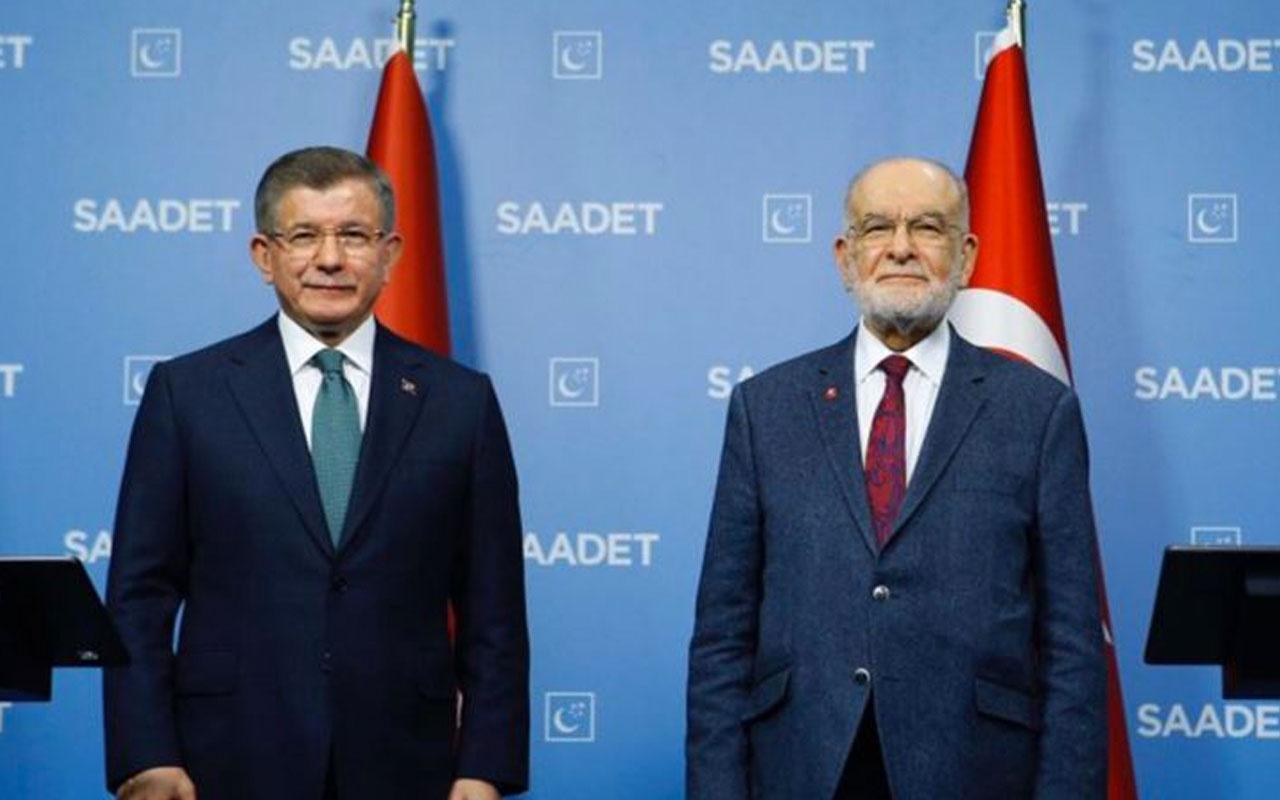 Ahmet Davutoğlu, Temel Karamollaoğlu'nu ziyaret etti: Ortak açıklama