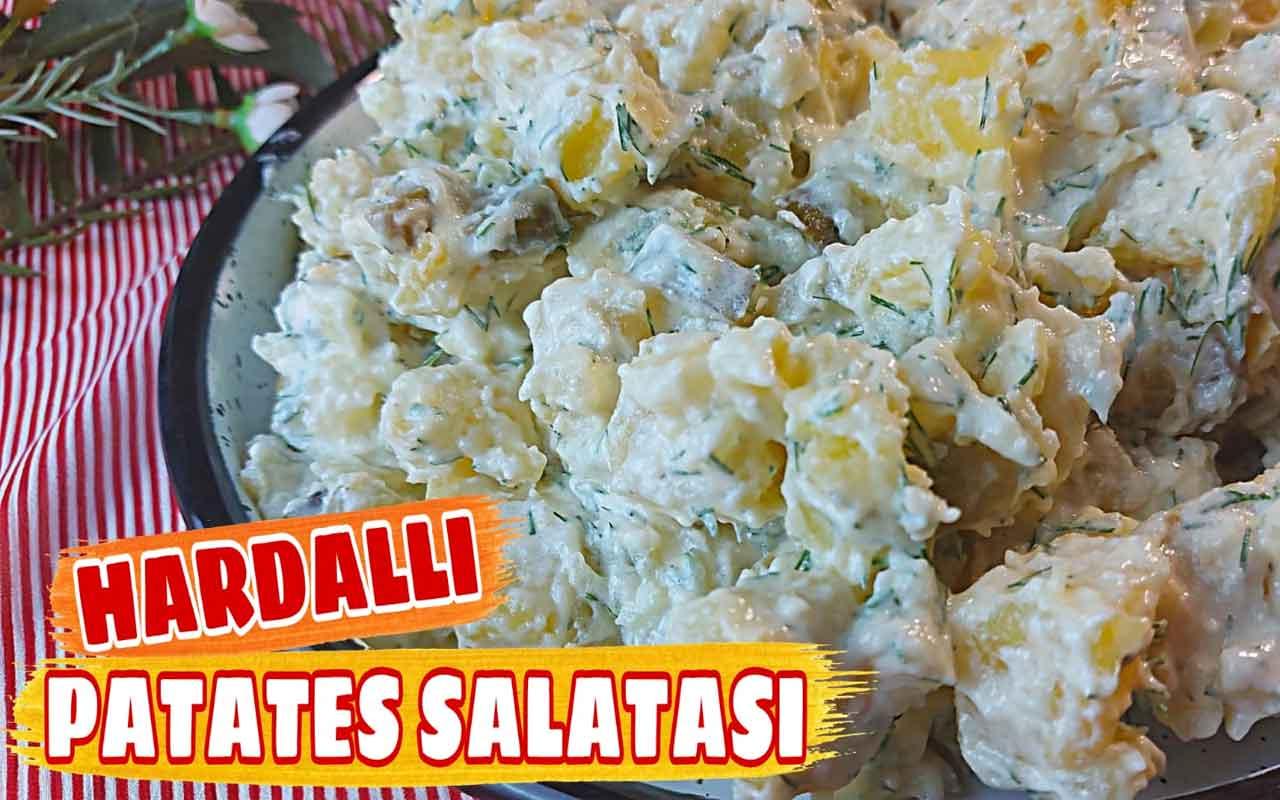 Hardallı yoğurtlu patates salatası nasıl yapılır alışılmışın dışında bir lezzet!