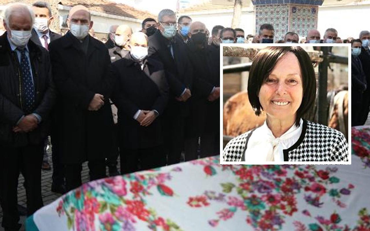 AK Parti Genel Başkan Yardımcısı Çiğdem Karaaslan'ın annesi toprağa verildi