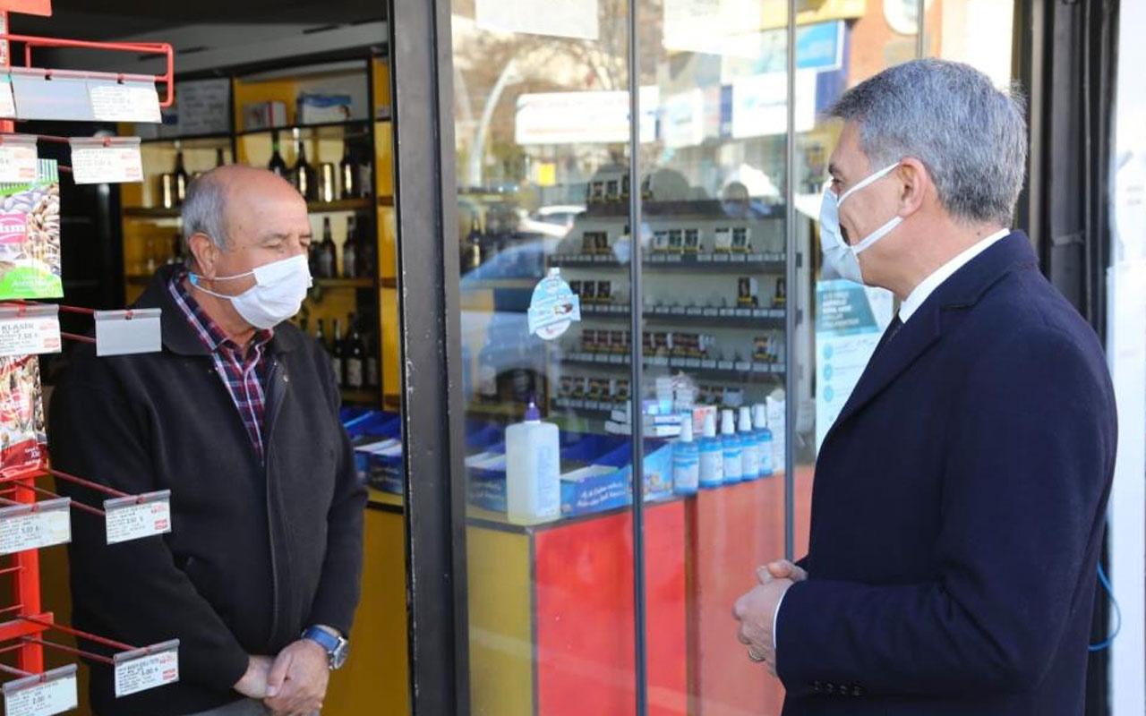 Tunceli'de bin kişilik ekiple covid-19 denetimi
