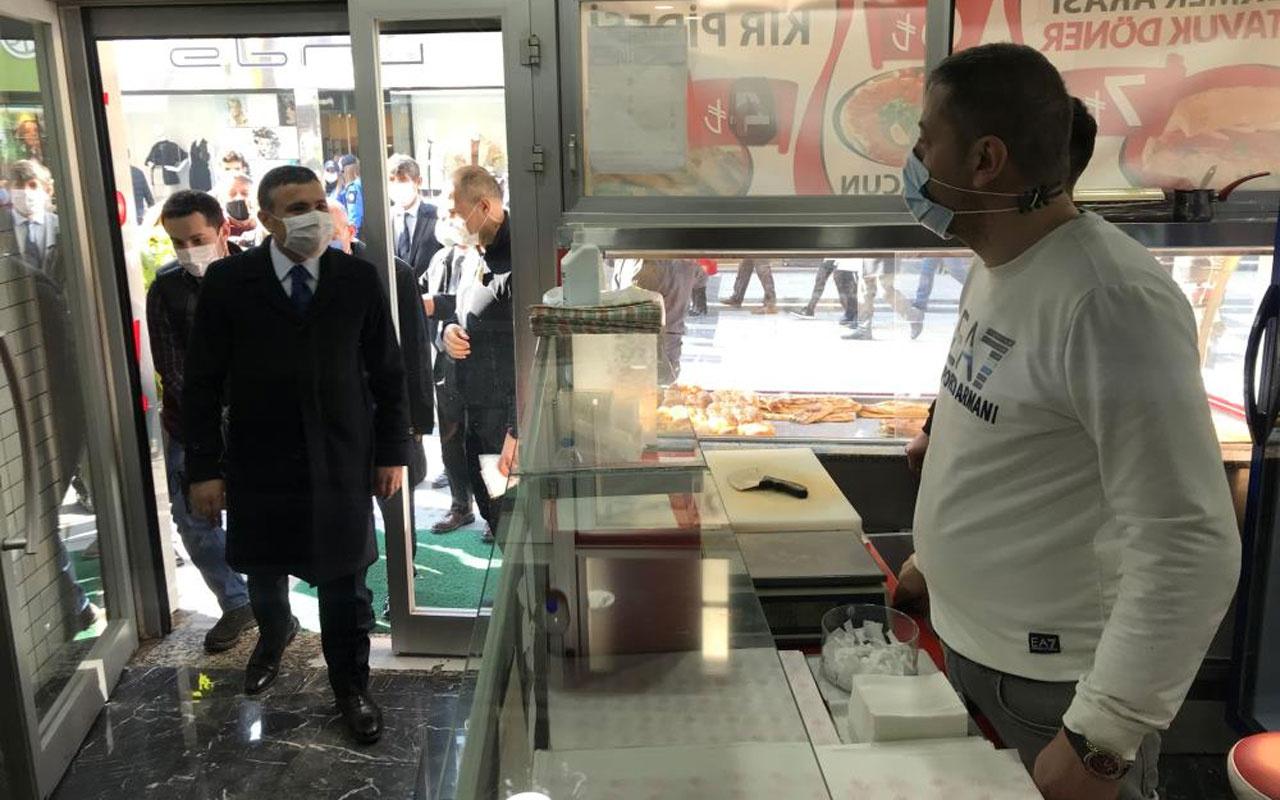 Düzce'de vaka sayıları son 3 haftada yüzde 11 arttı vali Cevdet Atay denetime çıktı