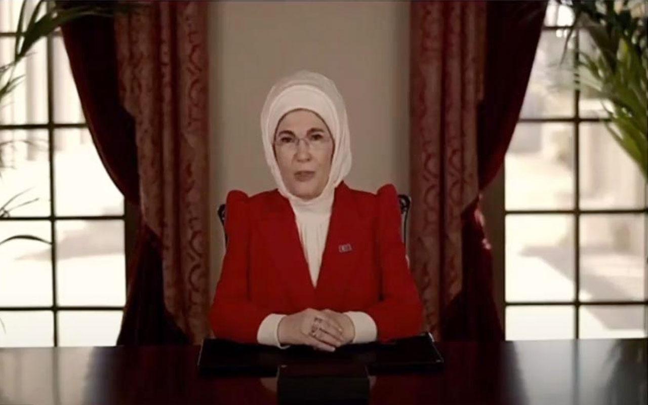 Emine Erdoğan: Kadın gücü küresel sorunların çözülmesinde büyük katkı sağlayacak
