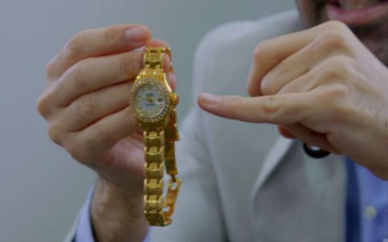 Çakma saatini satmak istedi! Gerçeği öğrenince inanamadı